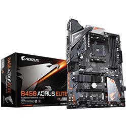 image produit Gigabyte B450 AORUS Elite - B450/AM4/ATX Cybertek
