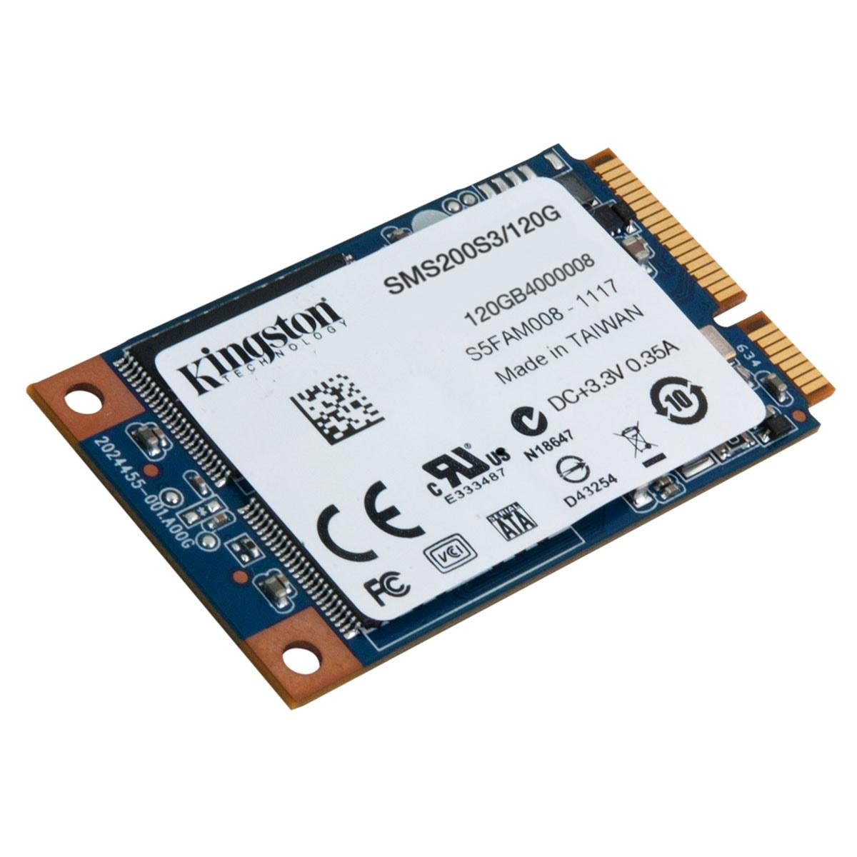 Kingston SMS200S3/120G 120-128Go - Disque SSD Kingston - 0