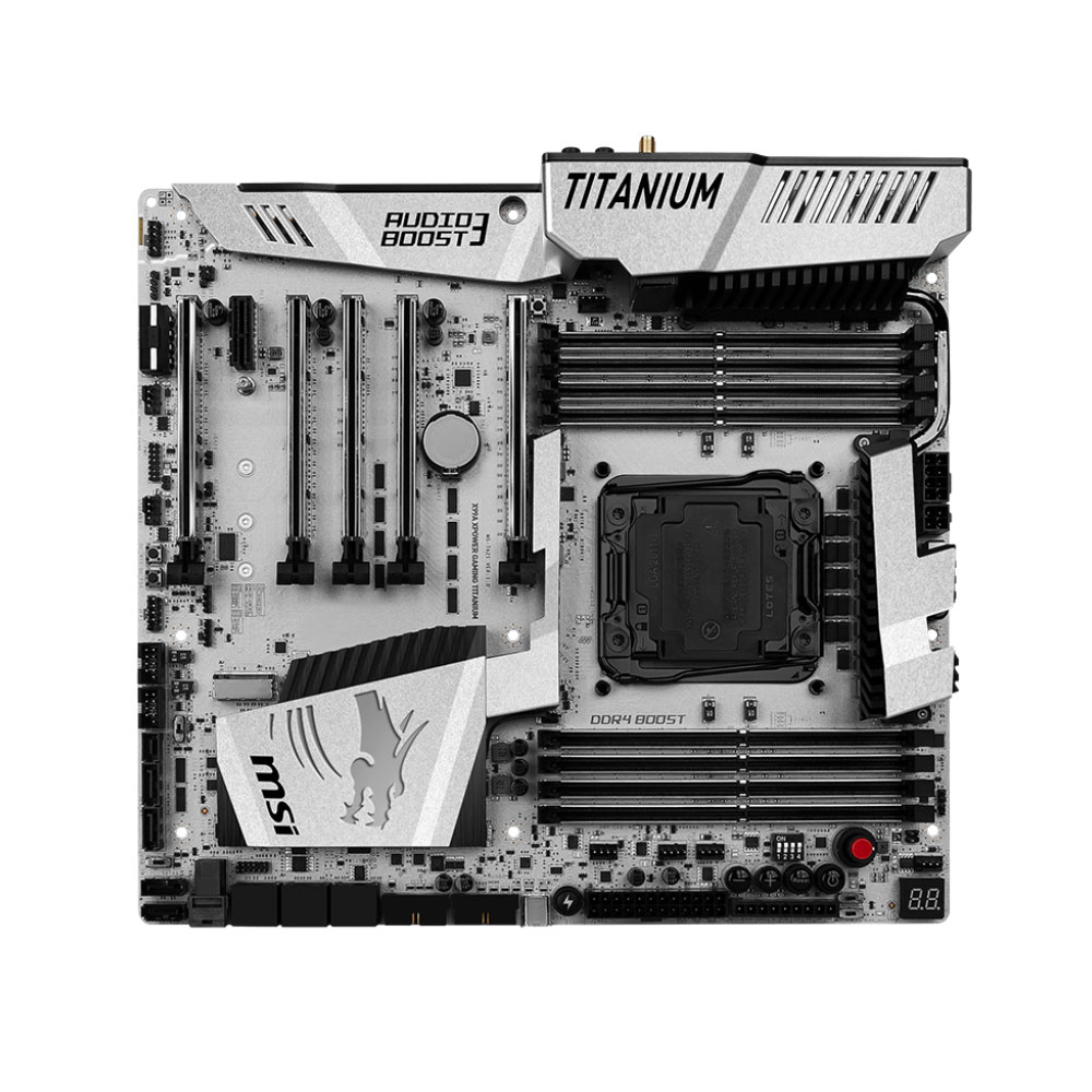 MSI X99A Xpower Gaming Titanium ATX DDR4 - Carte mère MSI - 1