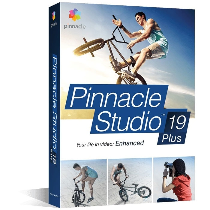 Pinnacle Studio Plus 19 (PNST19PLMLEU) - Achat / Vente Logiciel application sur Cybertek.fr - 0