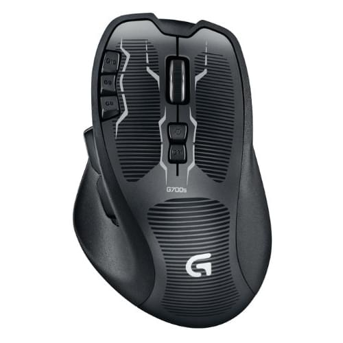 Souris PC Gamer Logitech G G700 S Rechargeable MMO Gaming Mouse - 0