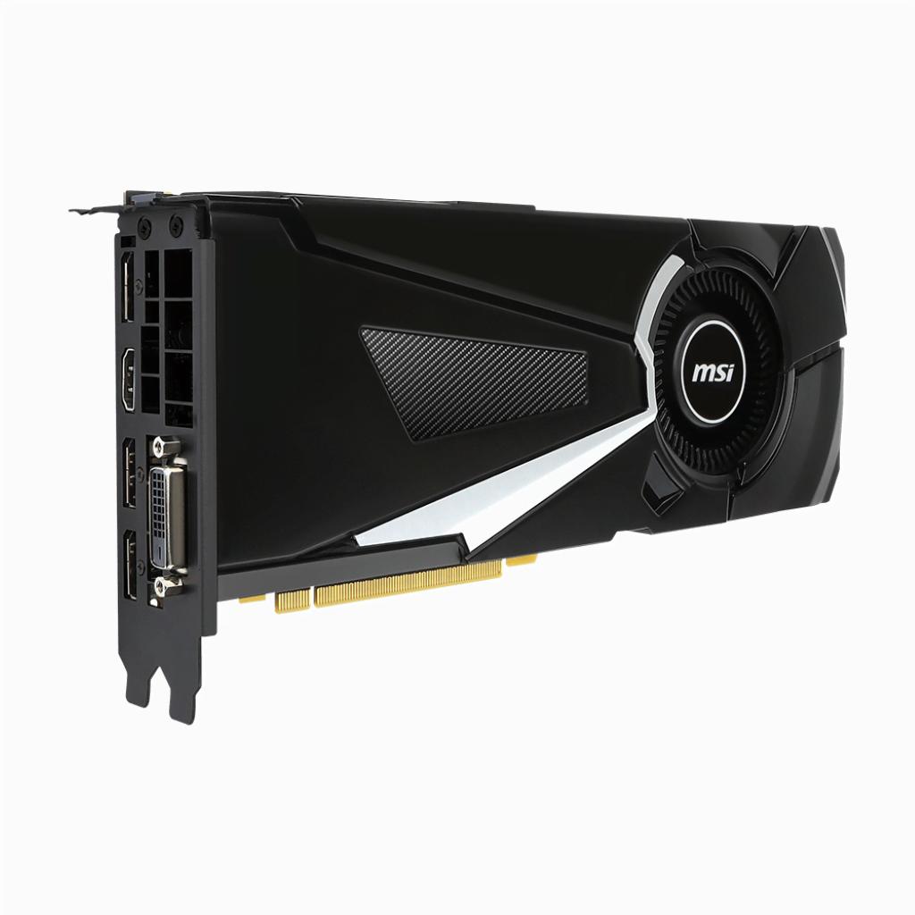 MSI GeForce GTX 1070 AERO 8G OC (GTX 1070 AERO 8G OC ) - Achat / Vente Carte Graphique sur Cybertek.fr - 1