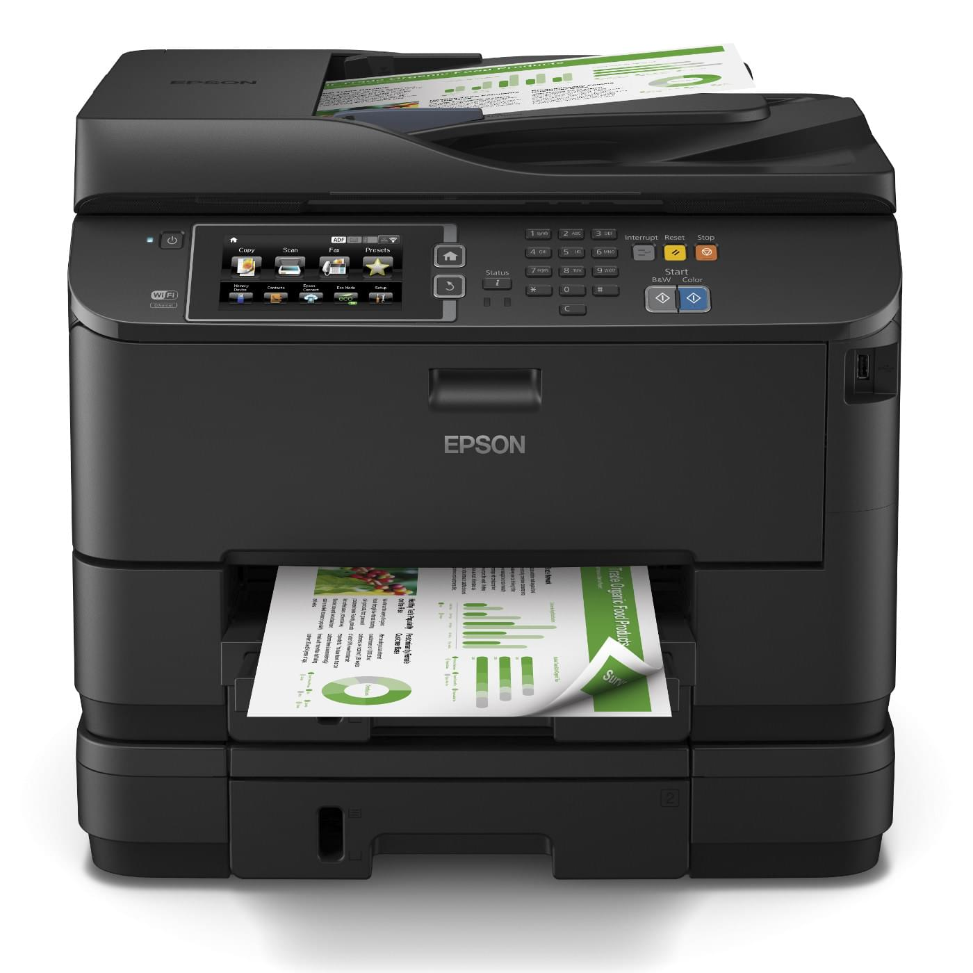 Imprimante multifonction Epson WorkForce WF-4640DTWF - Cybertek.fr - 0