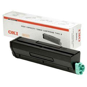 Toner B4300 01101202 Noir pour imprimante Laser Oki - 0
