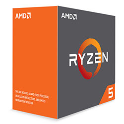 Processeur AMD Ryzen 5 1600X - 4.0GHz/19Mo/AM4/Ss ventil./BOX