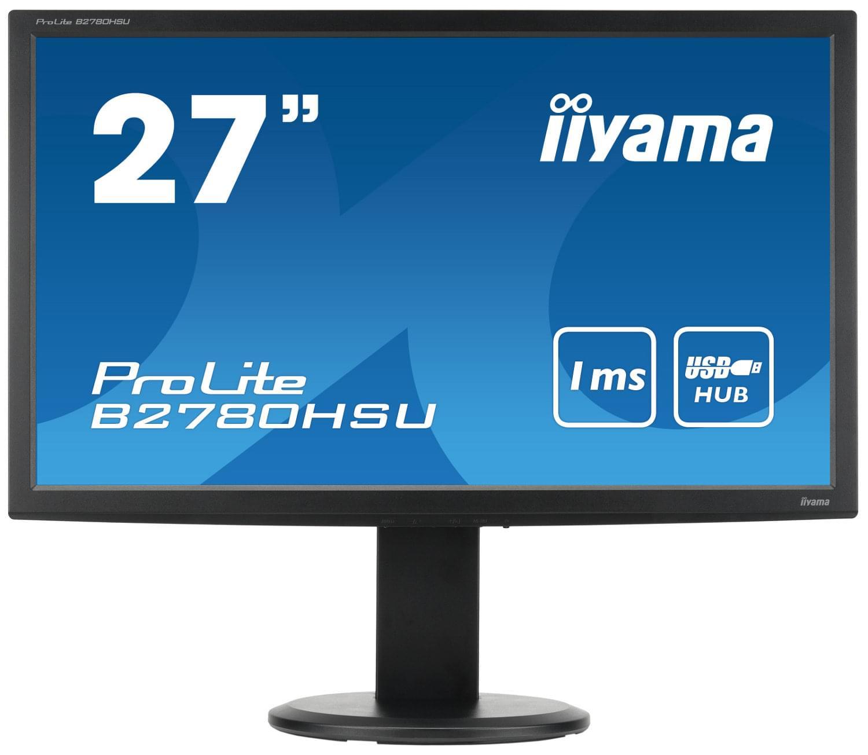 Iiyama B2780HSU-W1 (B2780HSU-W1) - Achat / Vente Ecran PC sur Cybertek.fr - 0