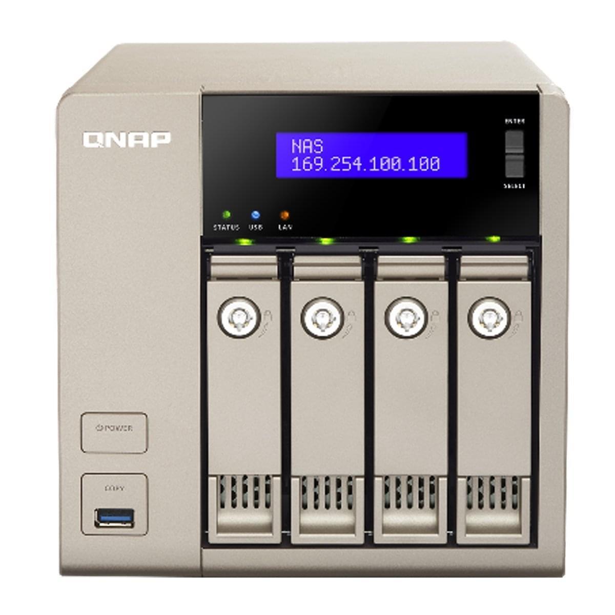 Qnap TVS-463-8G - 4HDD - Serveur NAS Qnap - Cybertek.fr - 0