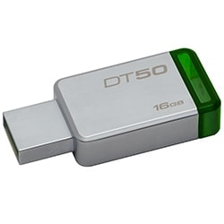 image produit Kingston Clé 16Go USB 3.1 DT50/16GB Cybertek