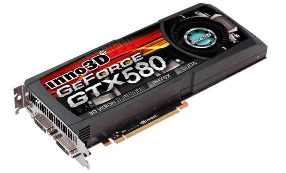 Twintech GF GTX 580  - Carte graphique Twintech - Cybertek.fr - 0