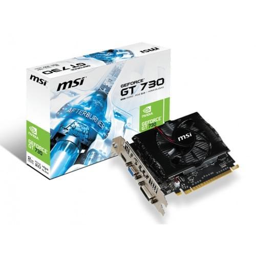 MSI nVidia GF GT serie 700 - 2Go - carte Graphique PC - GPU nVidia - 0
