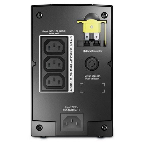 APC BX500CI (BX500CI) - Achat / Vente Onduleur - Multiprises sur Cybertek.fr - 1