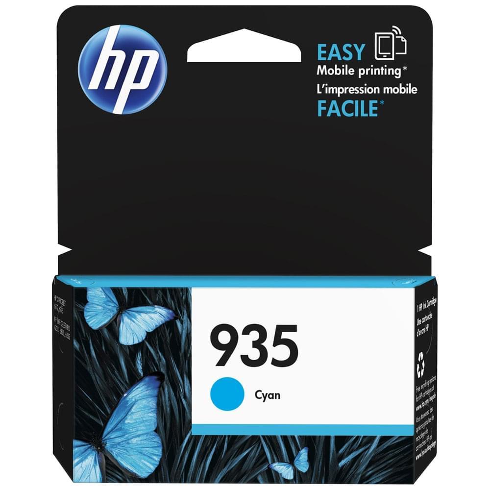 HP Cartouche 935 Cyan 400p (C2P20AE) - Achat / Vente Consommable Imprimante sur Cybertek.fr - 0