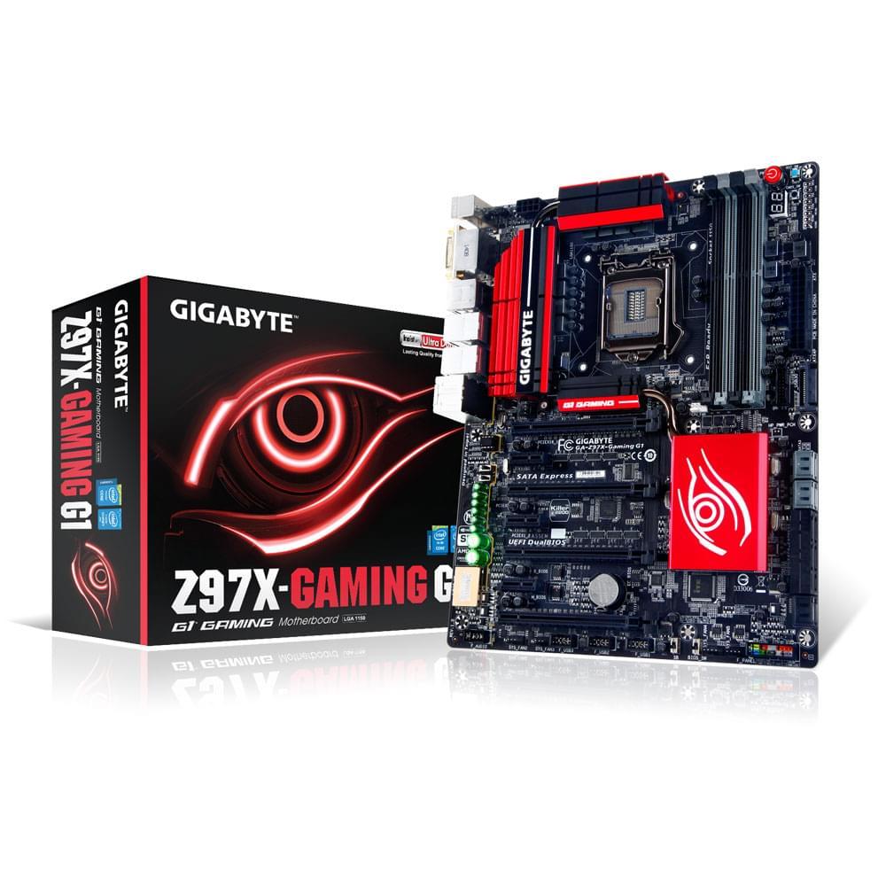 Gigabyte Z97X-GAMING G1 ATX DDR3 - Carte mère Gigabyte - 0