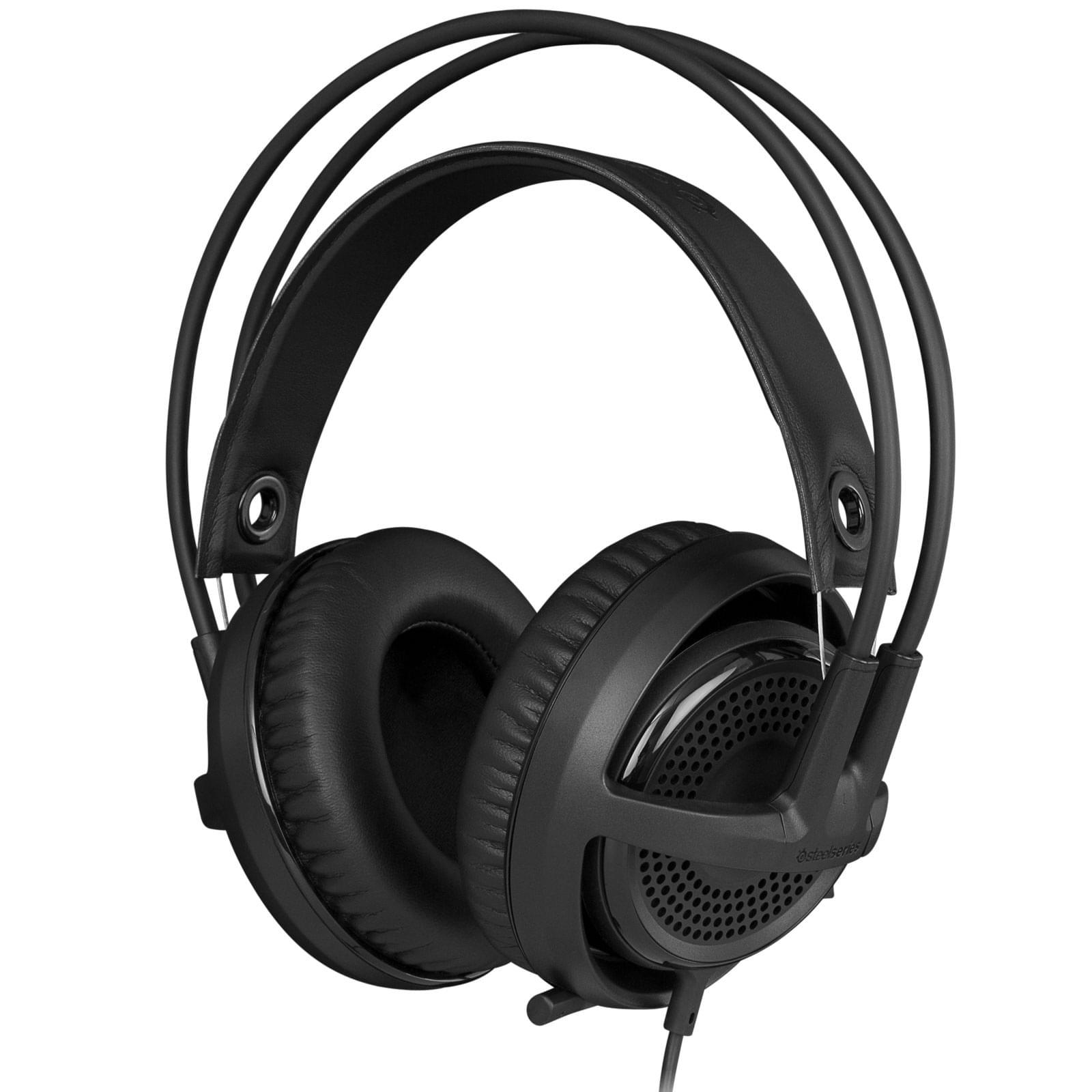 Steelseries Siberia V3 Noir (61357) - Achat / Vente Micro-casque sur Cybertek.fr - 0