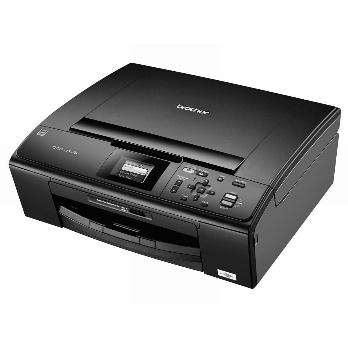 Brother DCP-J125 (DCP-J125) - Achat / Vente Imprimante multifonction sur Cybertek.fr - 0