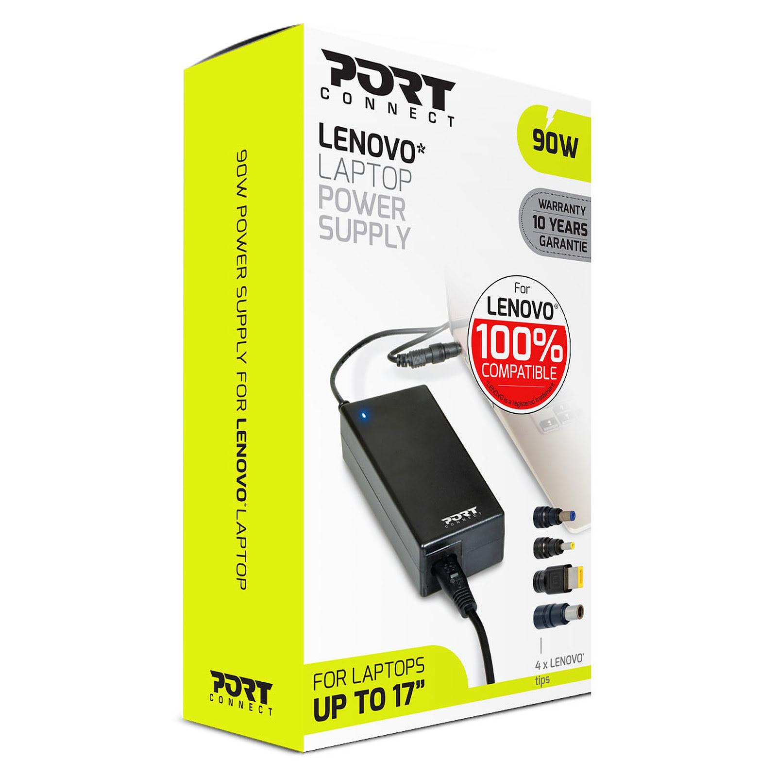 Chargeur secteur LENOVO 100% compatible 90W - Port - 1