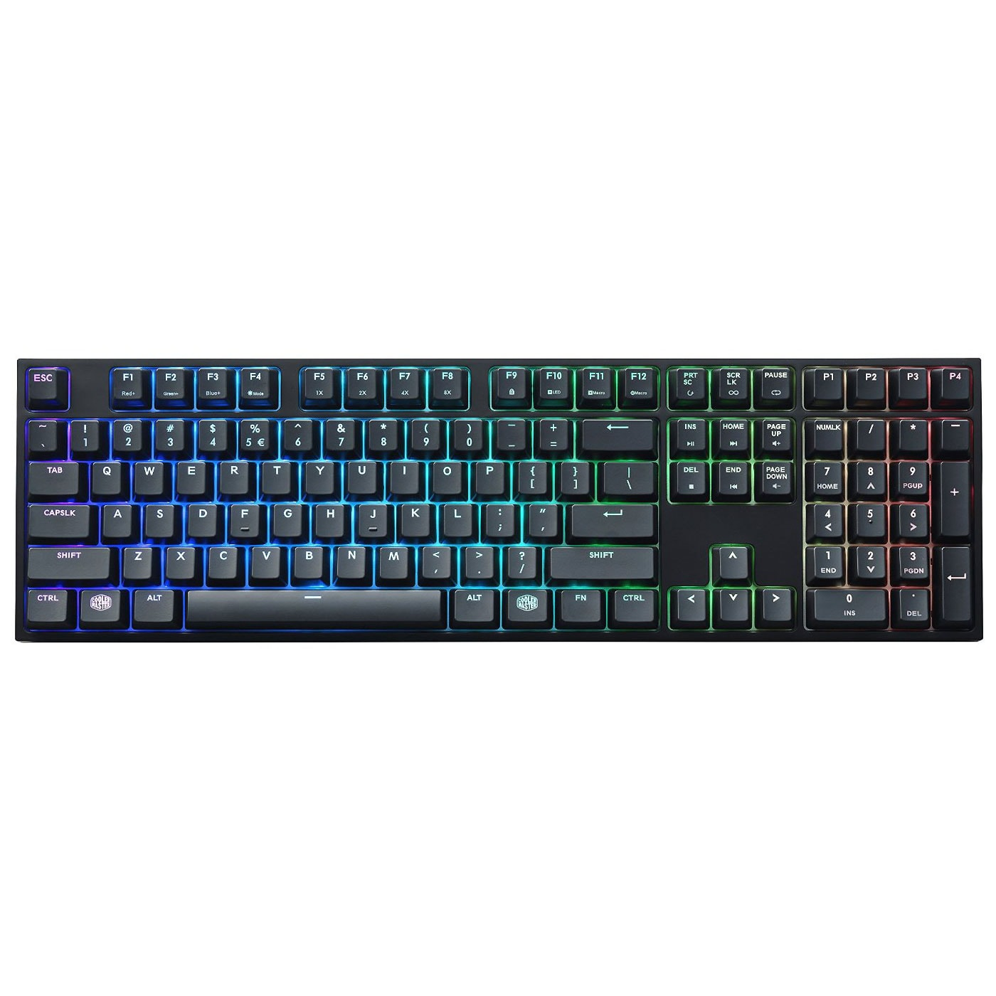 Cooler Master MasterKeys PRO L RGB MX Brown - Clavier PC - 3