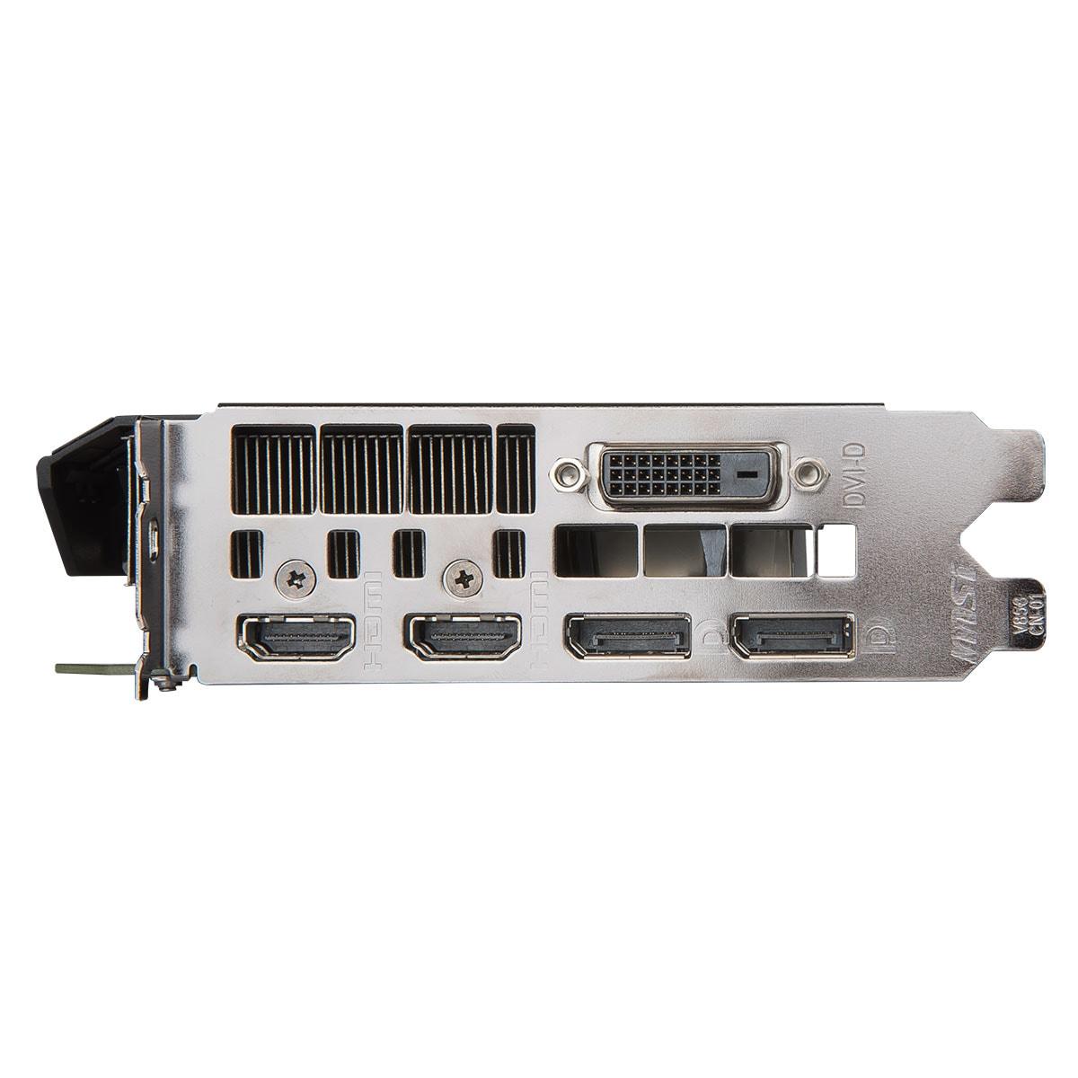 MSI GTX 1070 AERO ITX 8G OC 8Go - Carte graphique MSI - 1