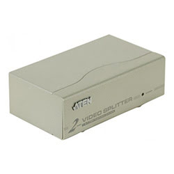 Cybertek Commutateur et splitter Aten Splitter VGA 2 voies - VS92A