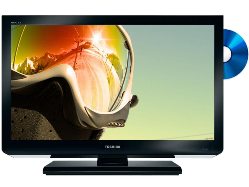 "Toshiba 32DB833 Combi-BluRay - 32"" (82cm) LED HDTV 1080p - TV - 0"