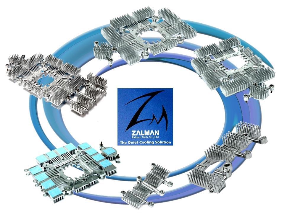 Zalman ZM-RHS88 dissipateur additionnel VF1000 pour 8800 - Ventilateur CPU - 0