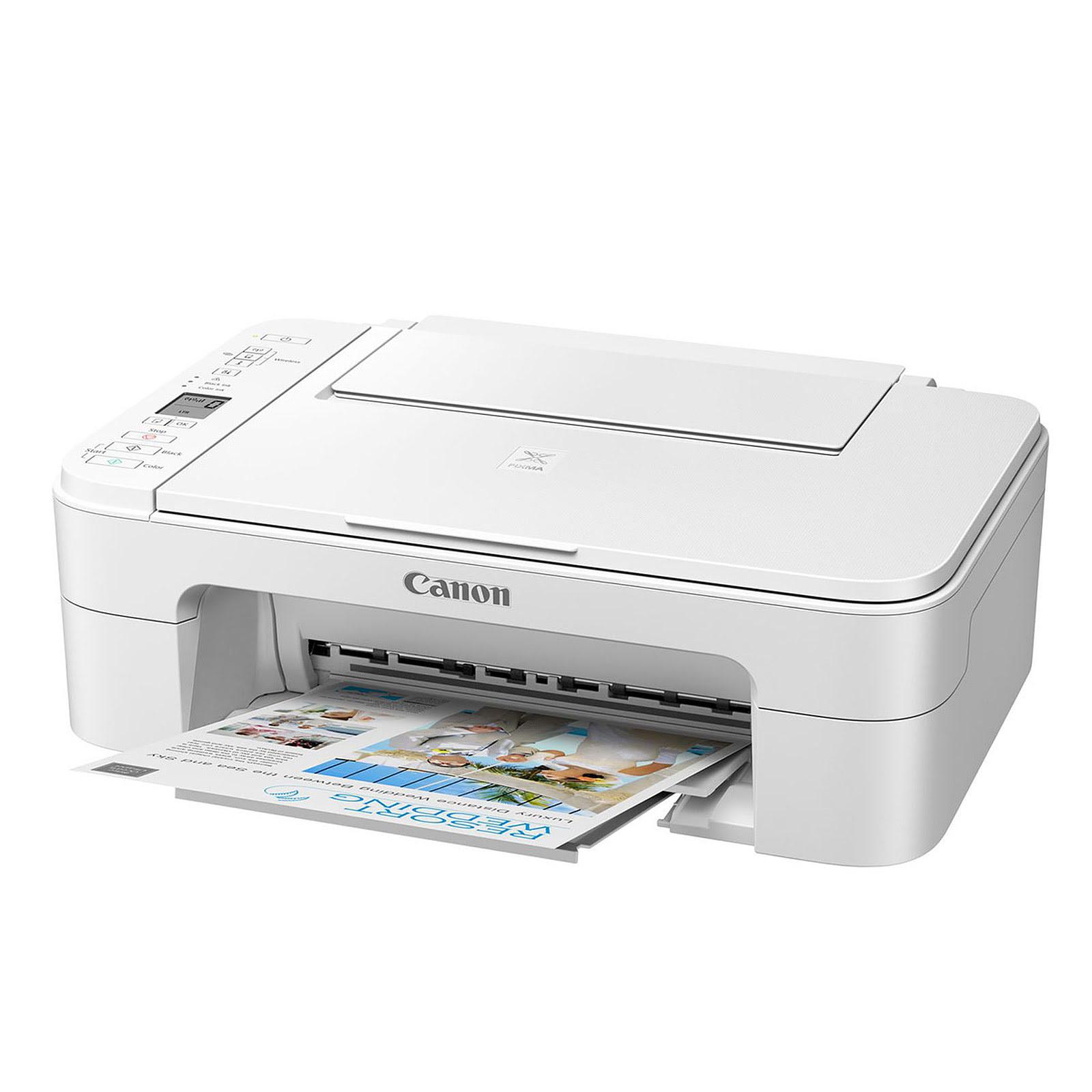 Imprimante multifonction Canon PIXMA TS3351 White - Cybertek.fr - 2