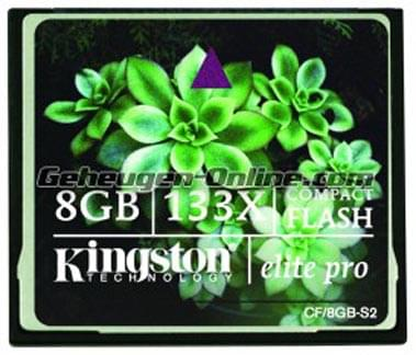Kingston CompactFlash 8Go 133x (CF/8GB-S2) - Achat / Vente Carte mémoire sur Cybertek.fr - 0