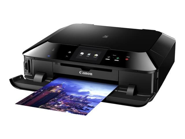 Canon PIXMA MG7150 Noire (8335B006AA) - Achat / Vente Imprimante Multifonction sur Cybertek.fr - 0