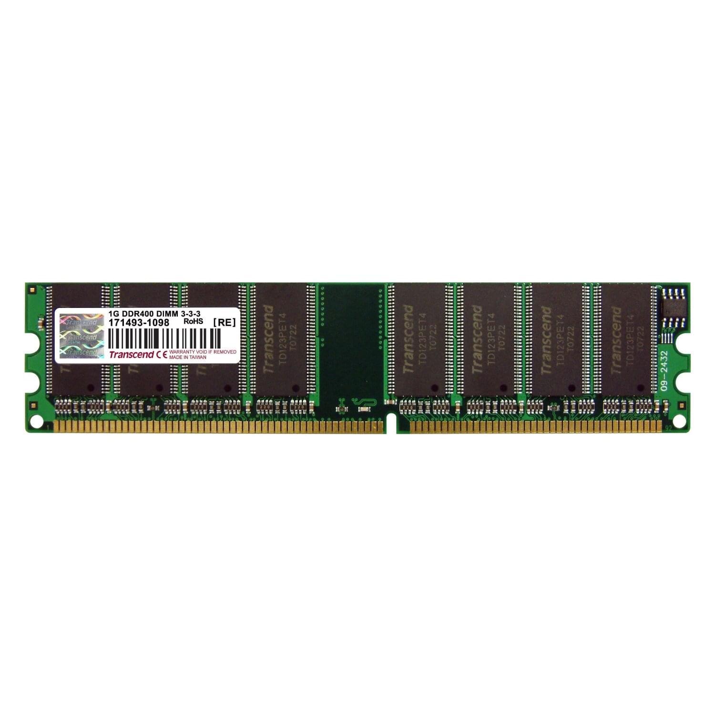 Transcend 1Go DDR-400 PC3200 JM388D643A-5L         1Go DDR 400MHz - Mémoire PC - 0