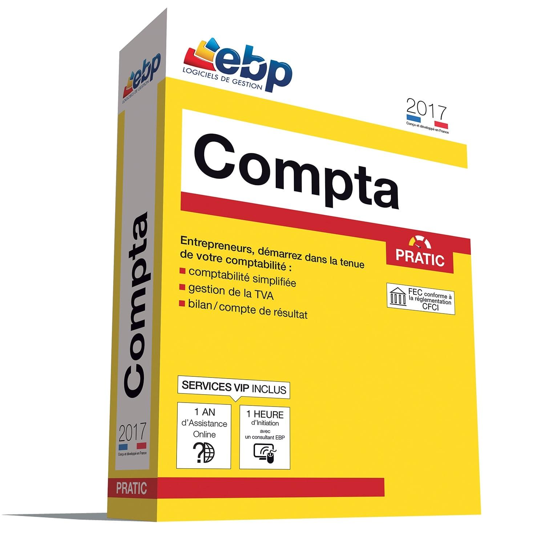 EBP Compta Pratic 2017 + VIP (1066E091FAA) - Achat / Vente Logiciel application sur Cybertek.fr - 0