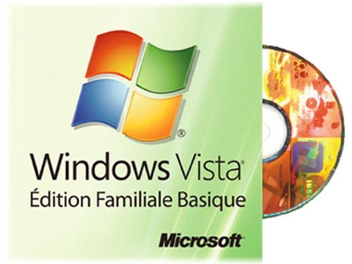 Microsoft Windows Vista Edition Familiale Basique CYBERTEK (66G-00918) - Achat / Vente Destockage sur Cybertek.fr - 0