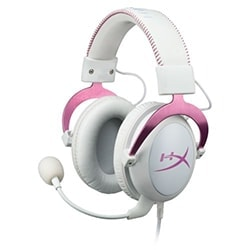 HyperX Micro-casque Cloud II Gaming Headset (Pink) Cybertek
