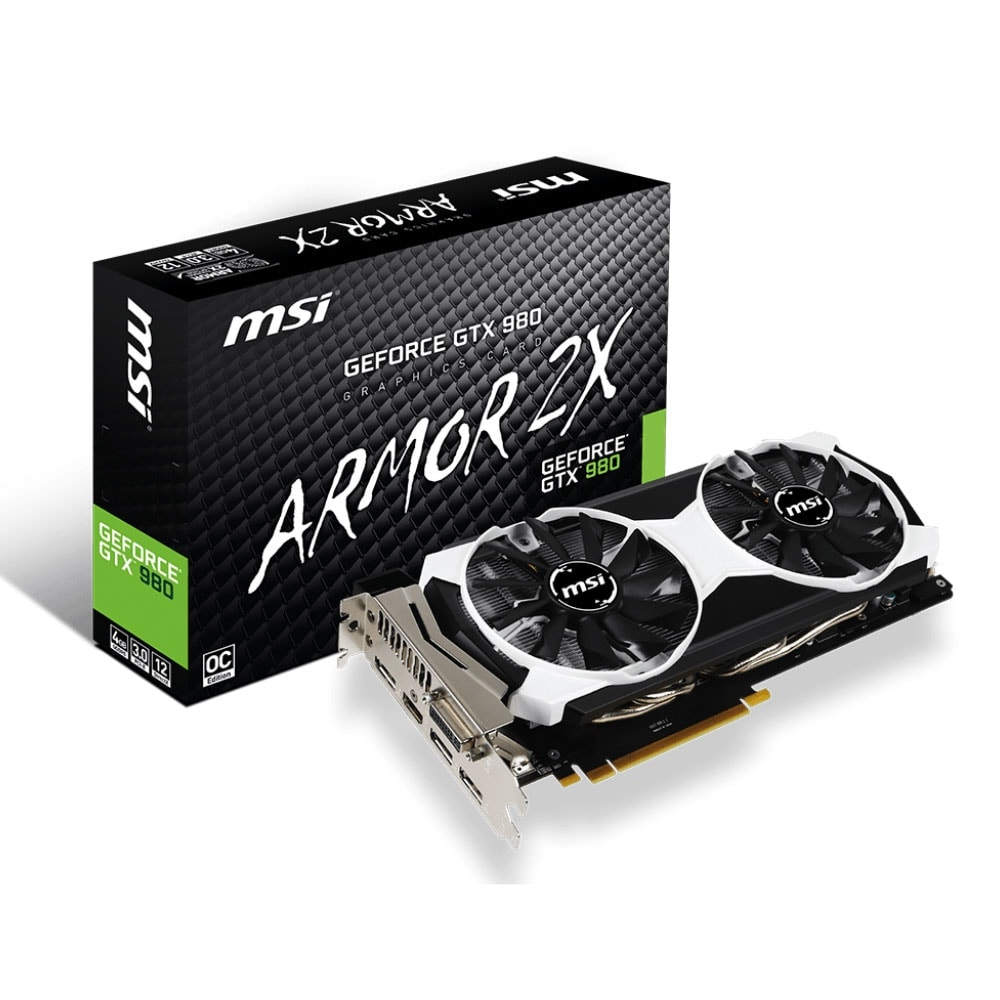 MSI GTX 980 4GD5T OC 4Go - Carte graphique MSI - Cybertek.fr - 0