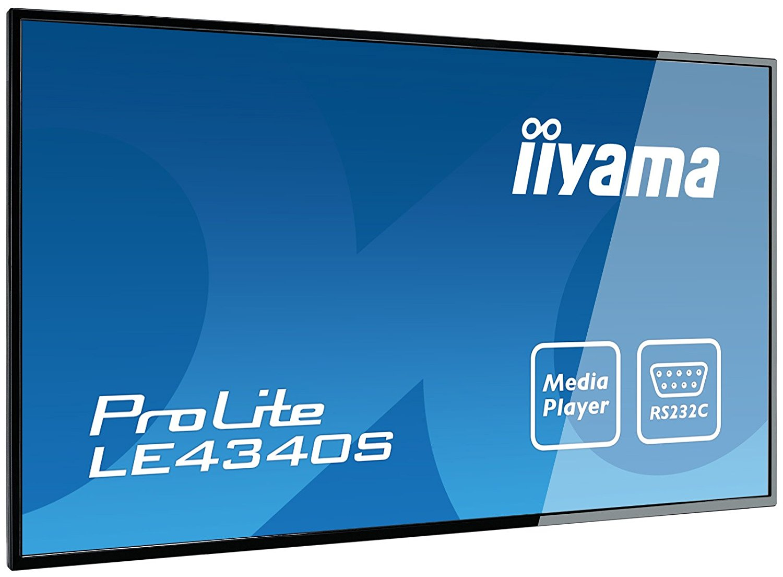 "Iiyama 43""  LE4340S-B1 - Ecran PC Iiyama - Cybertek.fr - 0"