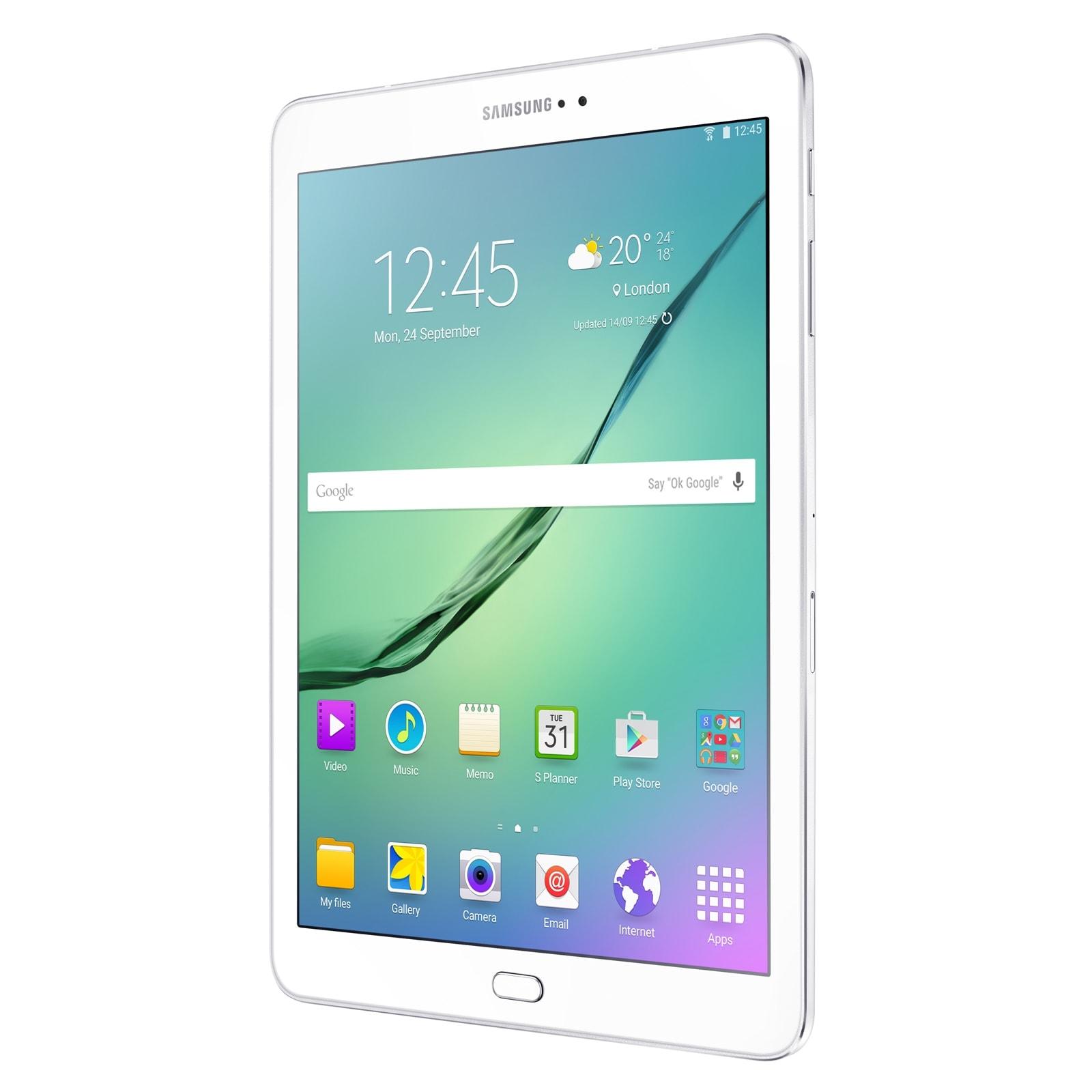 "Samsung Galaxy TAB S2 9.7"" T813 Blanche (SM-T813NZWEXEF) - Achat / Vente Tablette Tactile sur Cybertek.fr - 1"