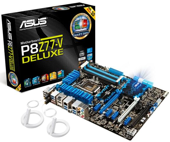 Asus P8Z77-V Deluxe (P8Z77-VDELUXE) - Achat / Vente Carte Mère sur Cybertek.fr - 0