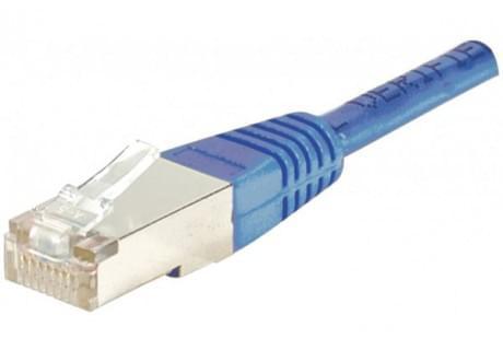 No Name Patch RJ45 cat6 FTP 15cm Bleu (852540) - Achat / Vente Connectique réseau sur Cybertek.fr - 0