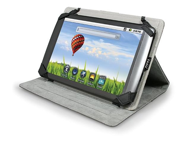 """Etui PHOENIX IV Universal 10.1"""" Noir - Accessoire tablette Port - 0"""