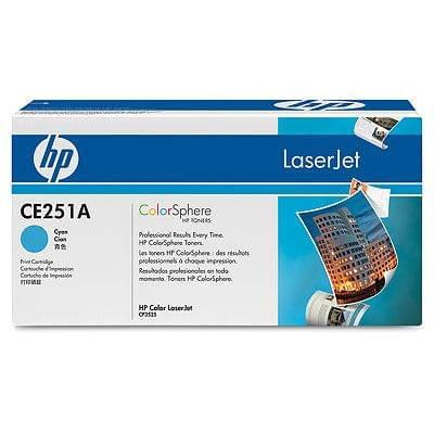 HP Toner Cyan 7000 p (CE251A) - Achat / Vente Consommable Imprimante sur Cybertek.fr - 0