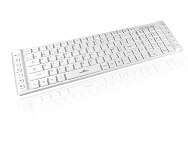 Bluestork Slim multimedia look mac (BS-KB-PROWHITE/F) - Achat / Vente Clavier PC sur Cybertek.fr - 0