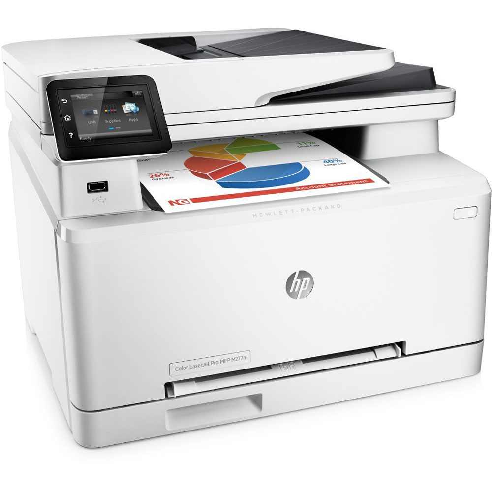 Imprimante multifonction HP Color LaserJet Pro M277n - Cybertek.fr - 0