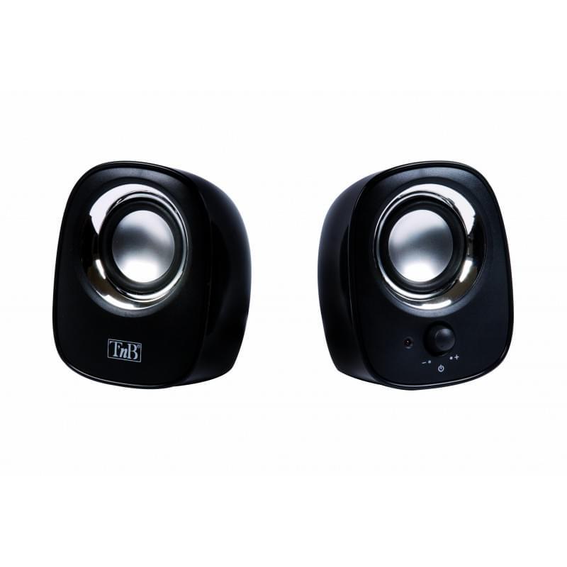 T'nB MX Series 2.0 Noirs HPMX20BK - Enceinte pour PC - Jack - 0