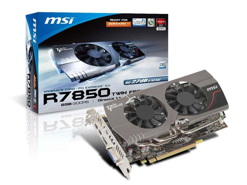 MSI R7850 TwinFrozr 2GD5/OC 2Go - Carte graphique MSI - 0