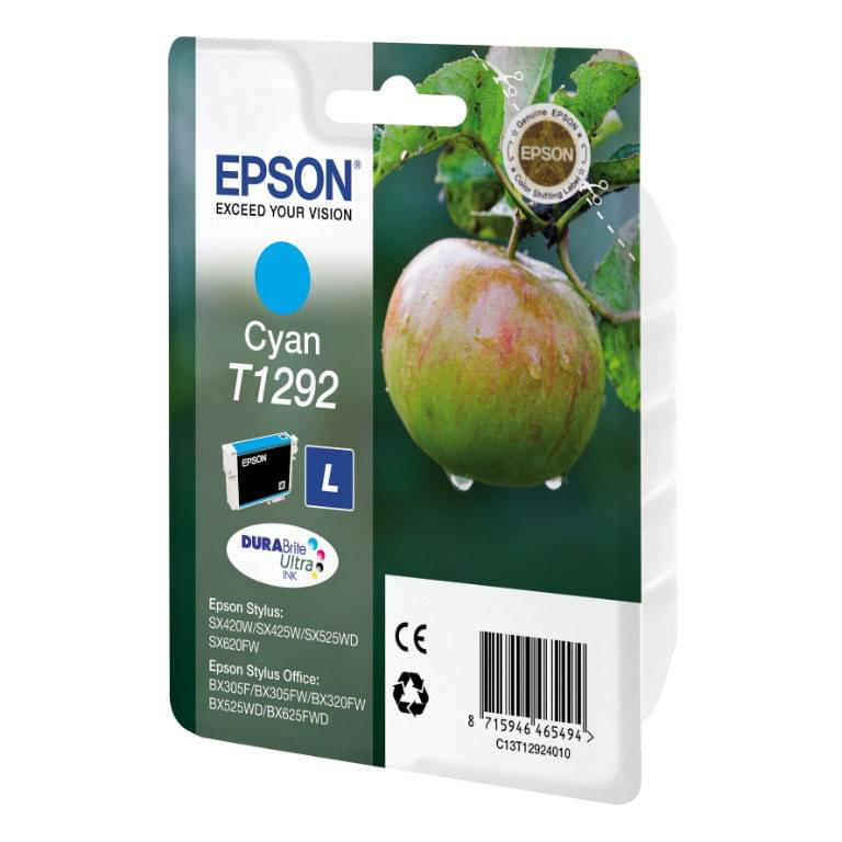 Epson Cartouche T1292 Cyan (C13T129240) - Achat / Vente Consommable Imprimante sur Cybertek.fr - 0