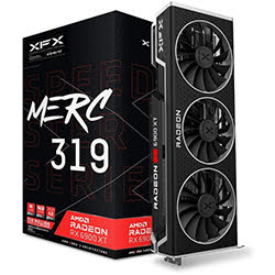 image produit XFX SPEEDSTER MERC319 RX 6900XT - 16G/HDMI/DP/USB-C  # Cybertek
