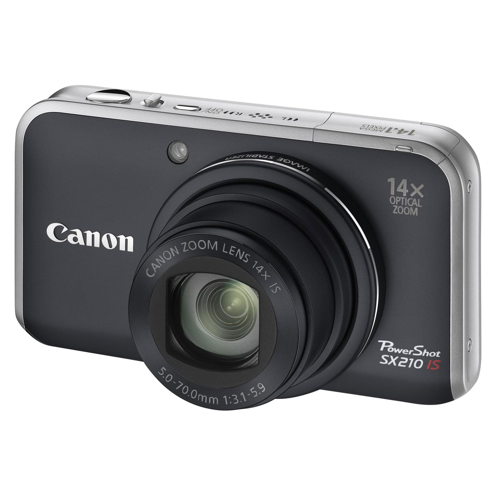 "Canon PowerShot SX210 IS Noir - 14.1MP/14X/3""/SD - Table de mixage - 0"