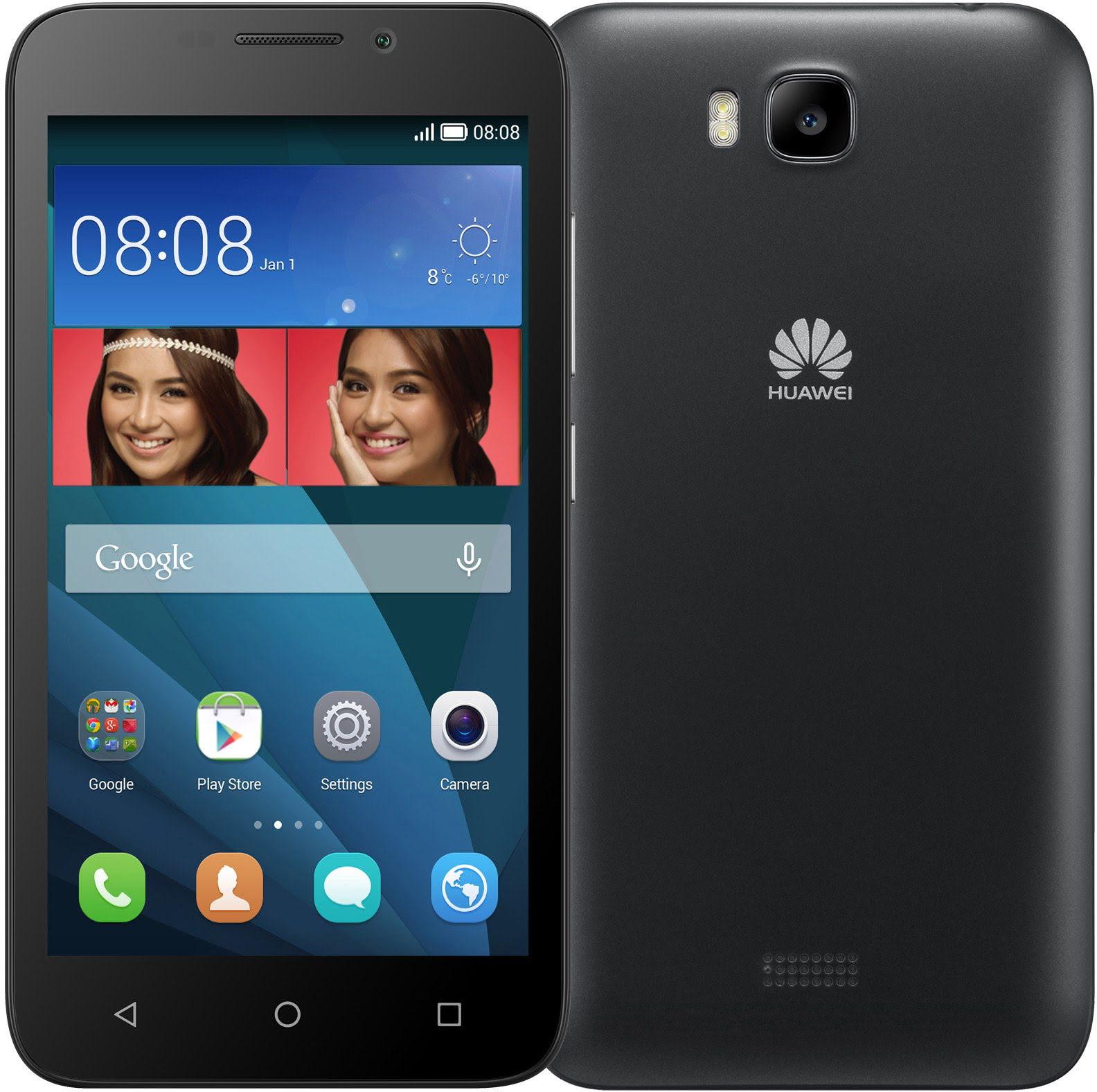 Huawei Ascend Y5 Y560-L01 LTE Black - Téléphonie Huawei - 0