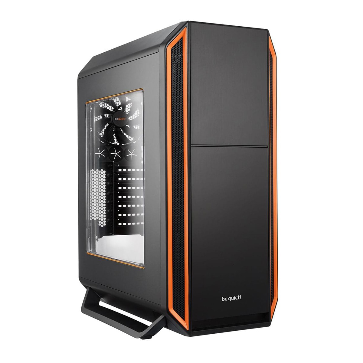Be Quiet! Silent Base 800 Orange Window (BGW01) - Achat / Vente Boîtier PC sur Cybertek.fr - 0