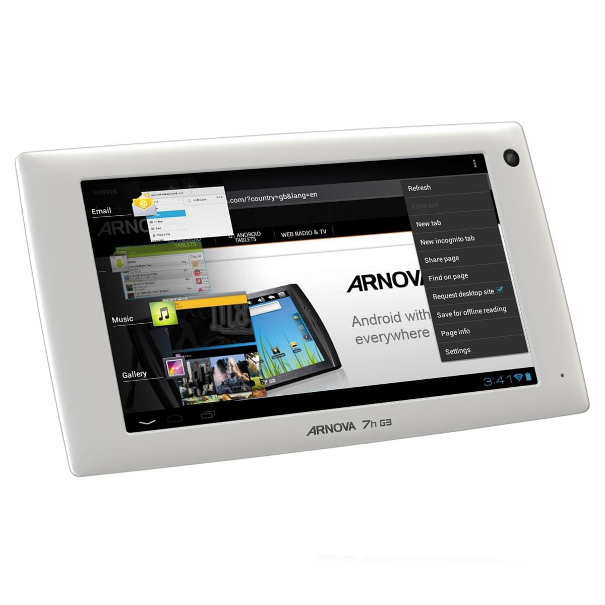 Archos Arnova 7H G3 4GB (502265 soldé) - Achat / Vente Tablette Tactile sur Cybertek.fr - 0