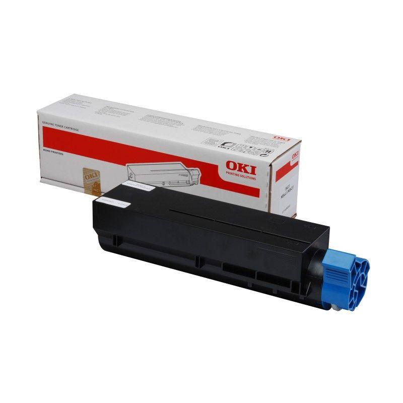 Toner Noir 7000 pages - 45807106 pour imprimante  Oki - 0